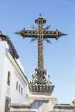 Cross the Trail in Cordoba. Royalty Free Stock Photography