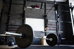 Cross-training gym Stock Photo