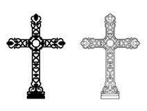 Cross. Vector illustration of a Christian cross, file EPS 8 Vector Illustration