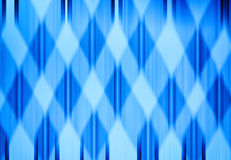 Cross vivid blue grid abstraction Stock Photography