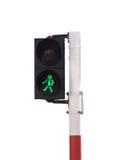 Cross walk sign royalty free stock image