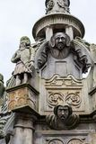 Cross Well, historical details, Linlithgow in Scotland. UK royalty free stock photos