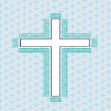 Cross white Royalty Free Stock Images
