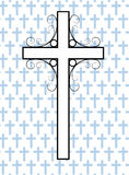 Cross white Royalty Free Stock Photos