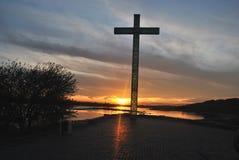 Cross in Wloclawek Stock Image