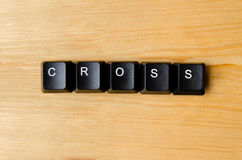 Cross word Royalty Free Stock Photography