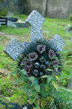 Cross with wreath. Stock Photo