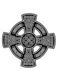 Cross2 celtico Fotografia Stock Libera da Diritti
