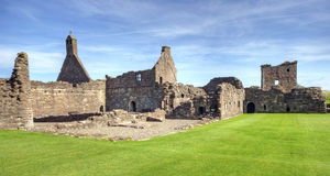 Crossaguel abbey Royalty Free Stock Photo