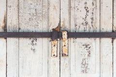 Crossbar Door Lock rusty Stock Image