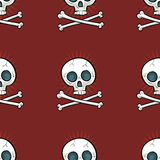 Crossbones Tile Royalty Free Stock Image