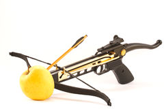 Crossbow. Isolated on white background Royalty Free Stock Images