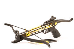 Crossbow. Isolated on white background Royalty Free Stock Photography