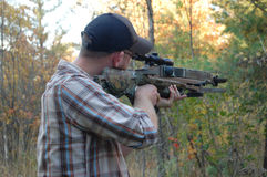 Crossbow Hunter Stock Images