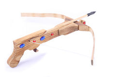 Crossbow toy Royalty Free Stock Photography
