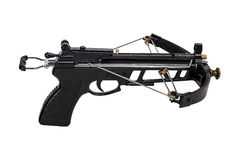 Crossbow. On a white background Royalty Free Stock Photos