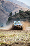 Crosscountry car rally Stock Photography