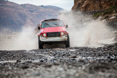 Crosscountry car rally Royalty Free Stock Photography