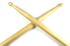 Crossed Drum Sticks Royalty Free Stock Photos