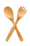 Crossed fork and spoon sign Royalty Free Stock Images