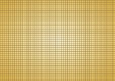 Lines golden squares pattern background. Crossed lines forming squares geometric pattern. Golden background Royalty Free Stock Photo