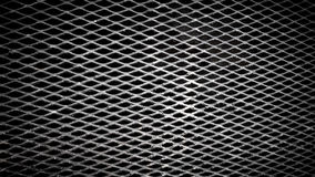 Crossed Metal Texture. On grey color Royalty Free Stock Photos