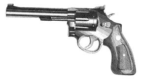 Crossed Pistols Engraved Style Stock Photos