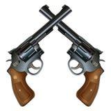 Crossed Pistols Stock Photos