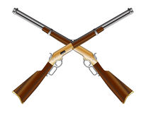 Crossed Rifles royalty free stock photography