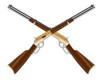 Crossed Rifles Stock Image