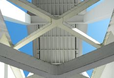 Crossed supports Royalty Free Stock Photos