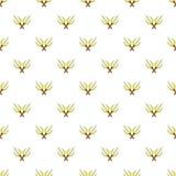 Crossed tridents pattern, cartoon style Stock Photos