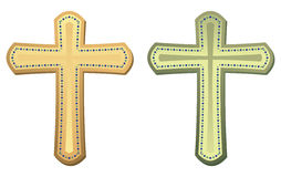 Crosses. Set of two crosses in vector mode Royalty Free Stock Photo