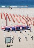 Crosses at Arlington West  in Santa Monica Royalty Free Stock Photo