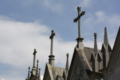 Crosses crypts Royalty Free Stock Photography