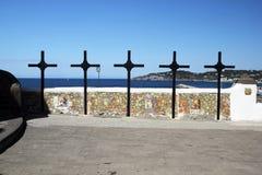 Crosses in ischia Stock Photos