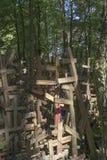 Crosses on the Mount Grabarka, Poland Royalty Free Stock Photo