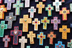 Crosses for sale, Mexico Royalty Free Stock Image