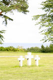 Crosses by the sea Royalty Free Stock Photo