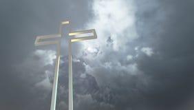 Crosses  silhouette Stock Photo