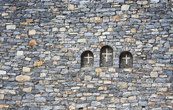 Crosses in the wall Royalty Free Stock Photo