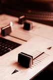 Crossfader of mixing controller Stock Image