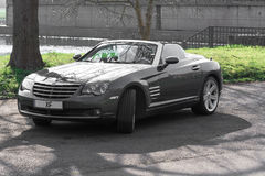 Crossfire Roadster in a parking lot in Germany Stock Photography