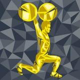 CrossFit 33 иллюстрация штока