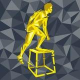 CrossFit 25 иллюстрация вектора