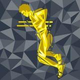 CrossFit 15 vektor illustrationer