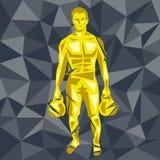 CrossFit 21 иллюстрация вектора