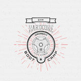 CrossFit badges logos and labels for any use Royalty Free Stock Photos