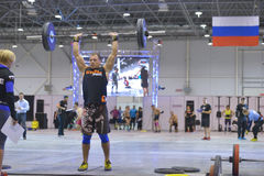 Crossfit competition Stock Image