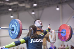 Crossfit competition Royalty Free Stock Image